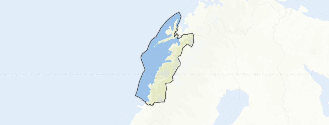 מפה / Nordland