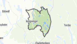 Карта / Kongsvinger
