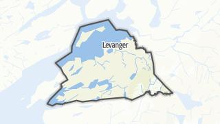 Mapa / Levanger