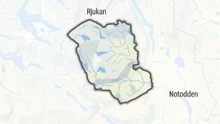 Mappa / Hjartdal