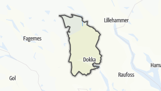 Карта / Nordre Land