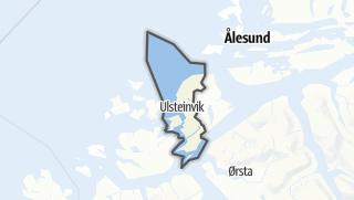 Mapa / Ulstein