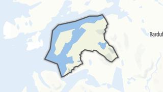 地图 / Dyrøy