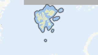 Mapa / Svalbard