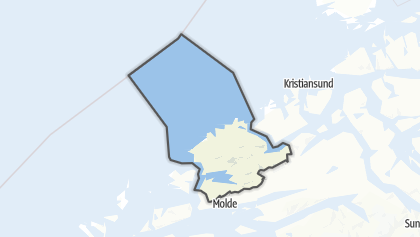 Mapa / Hustadvika