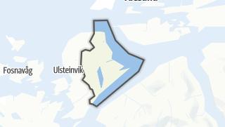 Mapa / Hareid