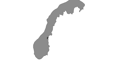 Mapa / Meråker
