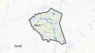 Mapa / Røros
