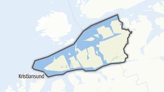 Mapa / Aure