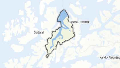 地图 / Kvæfjord