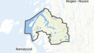 Mapa / Vevelstad