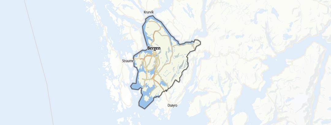 Map / Bergen