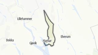 Mapa / Hamar