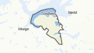 Mapa / Trondheim