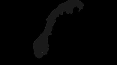 Mapa / Midt-Telemark