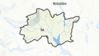 Mappa / Midt-Telemark