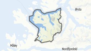 Mapa / Vanylven
