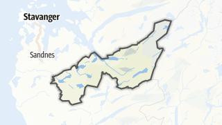 Mapa / Gjesdal