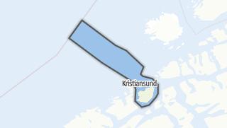 Mapa / Kristiansund
