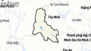 מפה / Svay Rieng