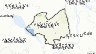 מפה / Kampong Thom
