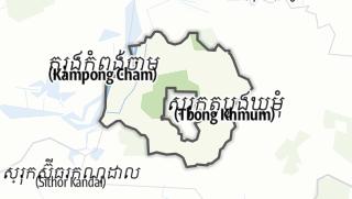 Map / Tboung Khmum