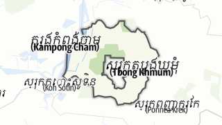 Карта / Tboung Khmum