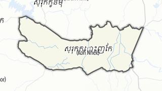 Mapa / Kaoh Nheaek