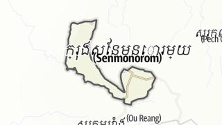 Mapa / Romonea