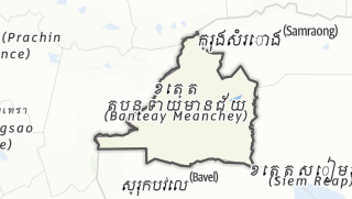 Carte / Banteay Meanchey