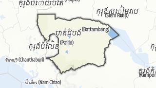 מפה / Battambang