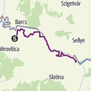 Map / Stage S10 Kapela Dvor (HR) - Noskovci (HR): A unique experience on the beautiful and versatile Slavonian roads