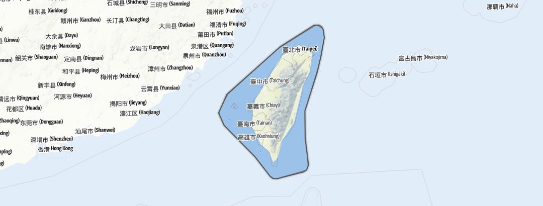 地图 / 台湾