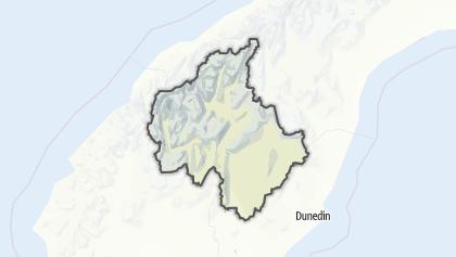 Mapa / Dunstan Constituency