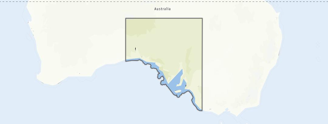 Hartă / Drumeţii in South Australia