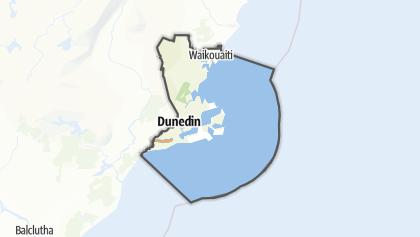 Mapa / Dunedin Constituency