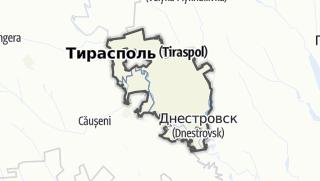 Kartta / Raionul Slobozia