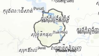 Hartă / Kampong Chhnang