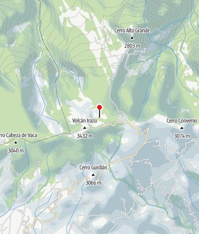 Karte / Irazú