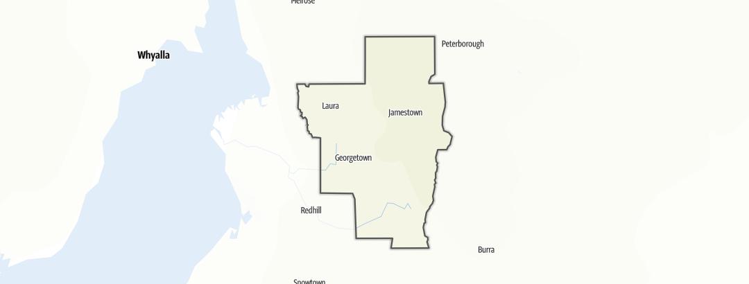 Karte / Wandern in Northern Areas