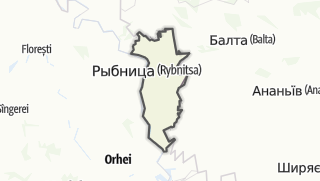 Kartta / Raionul Rîbnița