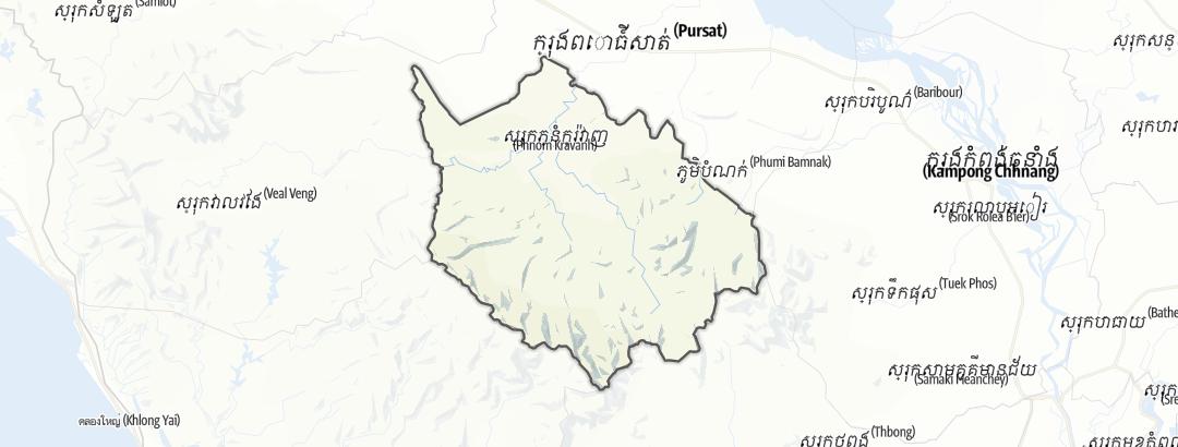Mappa / Phnum Kravanh