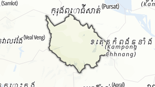 Map / Phnum Kravanh
