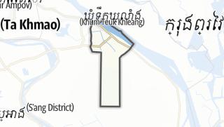 Térkép / Banteay Daek