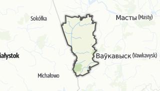 מפה / Berastavitsa Rajon