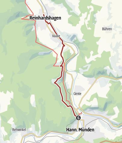 Karte / Märchenlandweg-Etappe4