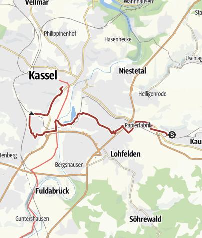 Karte / Märchenlandweg-Etappe9