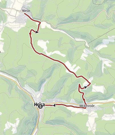 Karte / Märchenlandweg-Etappe11