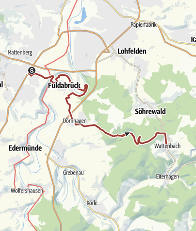 Karte / Märchenlandweg-Etappe13