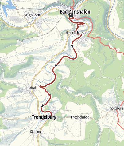 Karte / Märchenlandweg-Etappe22